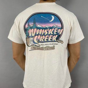 vintage 90s whiskey creek California graphic tee
